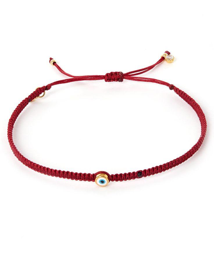 Tai Small Evil Eye Woven Bracelet