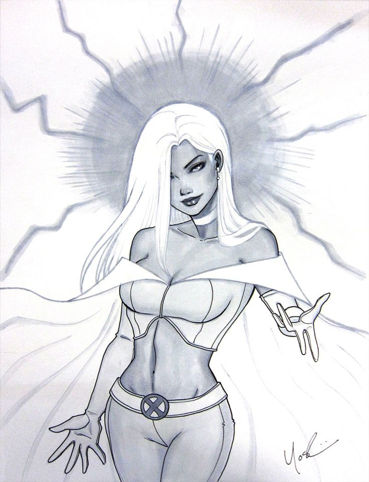 Emma Frost Comic Art
