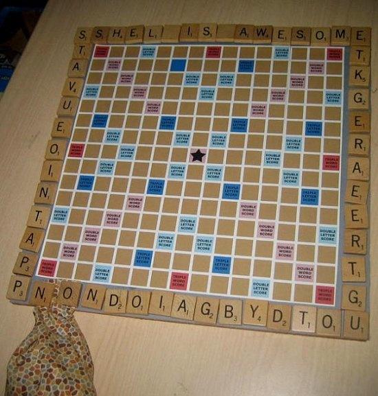 Scrabble Bulletin Board Game
