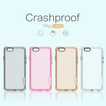 Para a apple iphone 6 s plus nillkin caso crashproof natureza transparente tpu para iphone 6 plus (5.5 polegadas) transparente Ultra-fina de Casca Mole(China (Mainland))