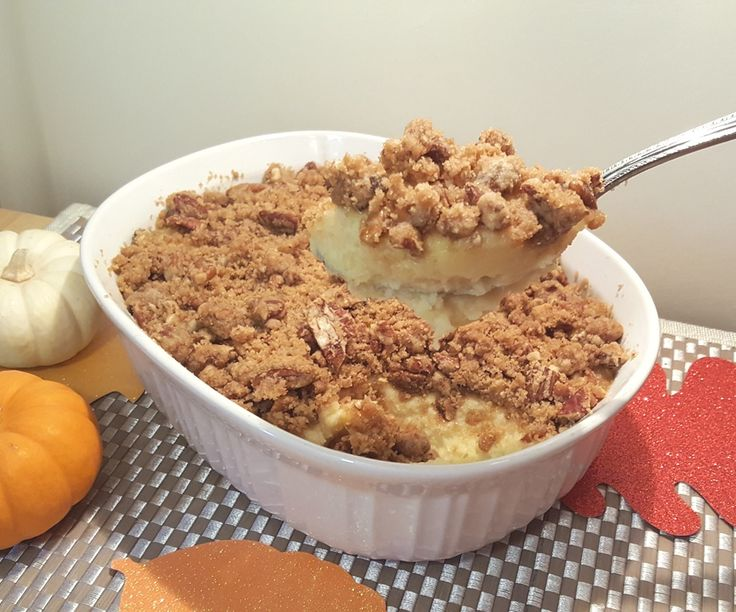 Oven Baked Ruth's Chris Sweet Potato Casserole Image