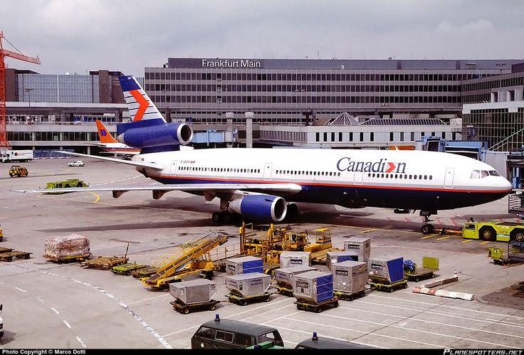 C-GCPI Canadian Airlines International McDonnell Douglas DC-10-30(ER) photographed at Frankfurt - Rhein-Main International (FRA / EDDF) by Marco Dotti