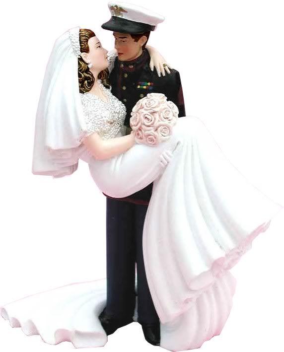 Marine Corps Wedding Cake Toppers | marine corps wedding shipping had one looksmarine corps bymarine ...
