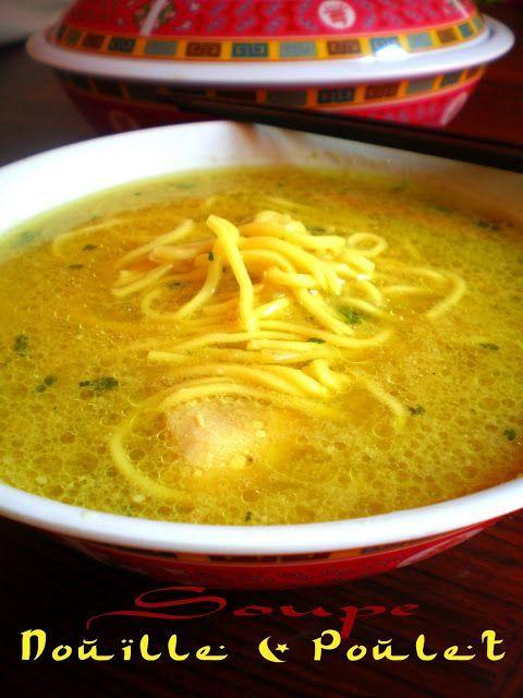 Pourquoi se priver quand c'est bon et léger?: Soupe de nouille au poulet de Rachida Amhaouche (4...