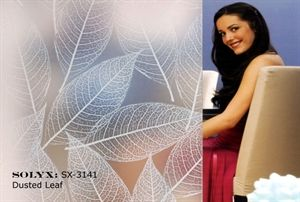 SOLYX Dusted Leaf. A soft tone effective privacy film with a good light transmission.