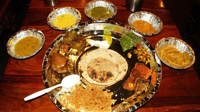 Delicious Rajasthani food!