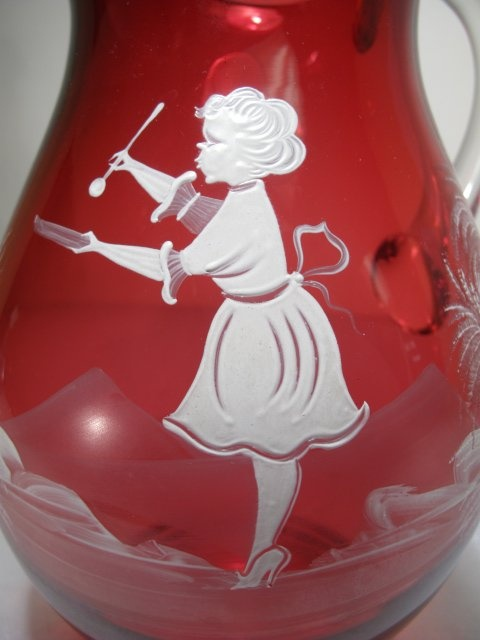 17 Best Images About Cranberry Glass On Pinterest