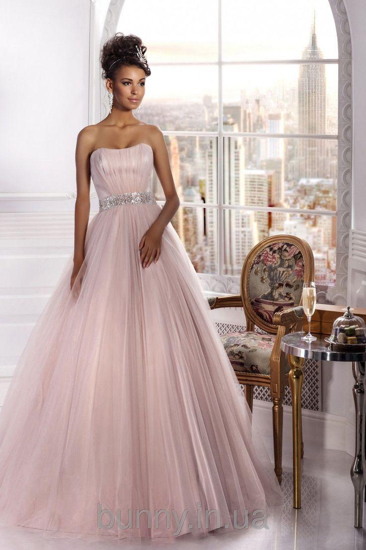 """Свадебное платье """"Воздушный поцелуй"""" пудра (продажа, напрокат) - Свадебный салон…"""
