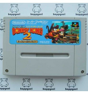 Super Donkey Kong 2 - Dixie & Diddy / Donkey Kong Country 2 - Diddy's Kong Quest (loose) Super Famicom #SuperFamicom #Nintendo #retrogaming #retrogame #DonkeyKong