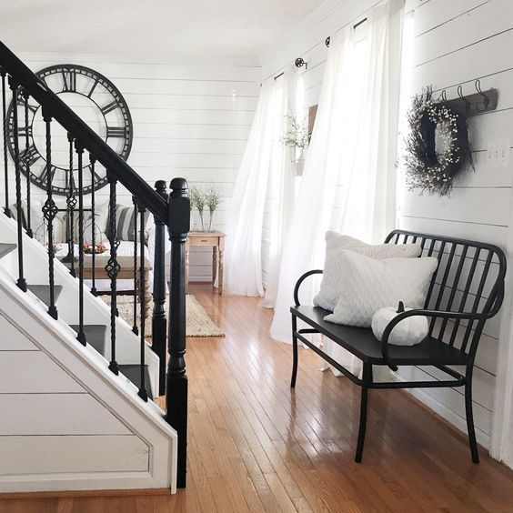 17 Best Images About Black And White Cottage On