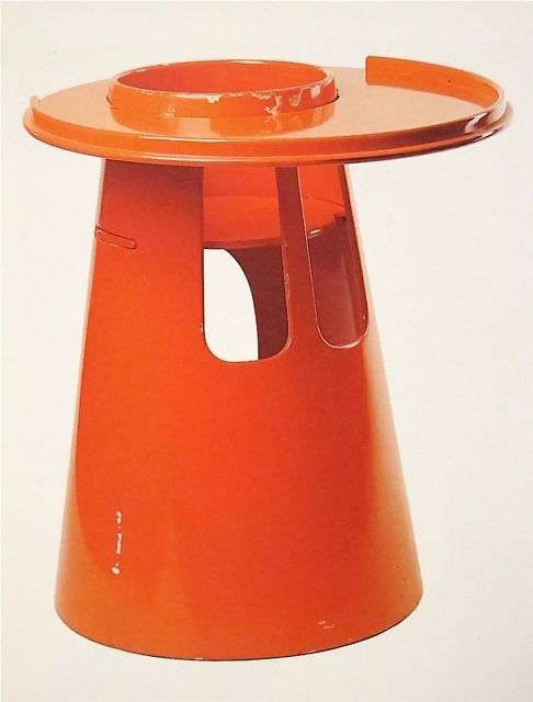 Play Table | Orange | Stig Lonngren | c1963