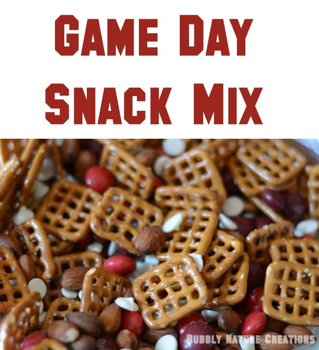 Game Day Snack Mix....yummy, easy, snack!