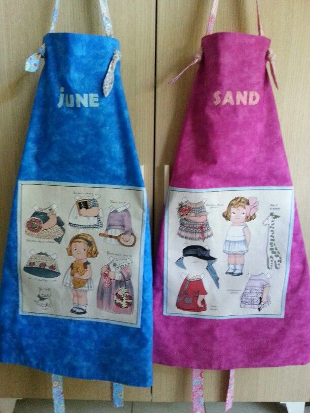 Twin aprons