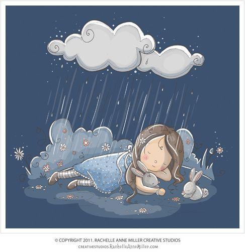 Dreaming. By Rachelle Anne Miller.