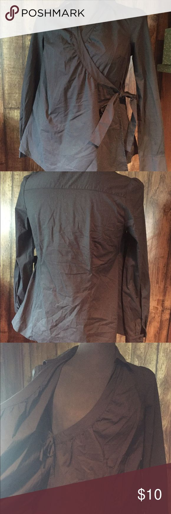 Black maternity shirt from old navy Black maternity shirt from old navy Old Navy Tops
