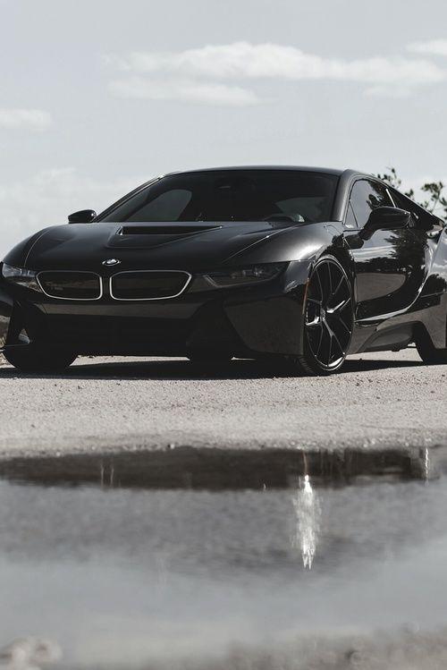 Black BMW i8
