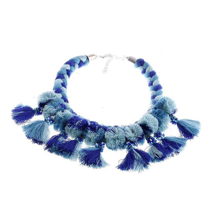 NECKLACE W/ TASSELS - Jewelery