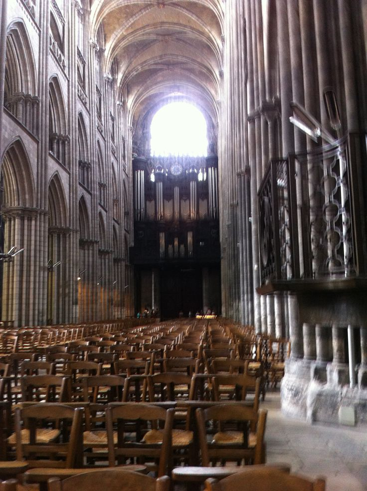 Fred. Olsen Cruise Lines - Mini Cruise aboard Braemar, Inside Notre Dame Cathedral in Rouen