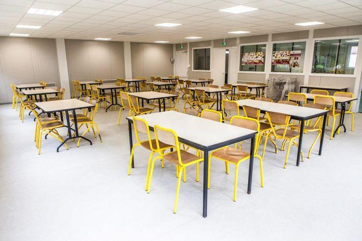 Cantine scolaire #modulaire par #Legoupil #Industrie.