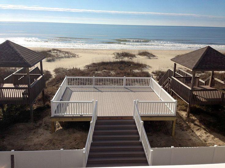 Ocean Isle Beach House Rental New For 2014 Luxury Oceanfront Pool Wedding Friendly