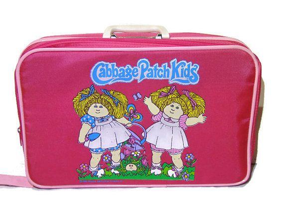 Cabbage Patch Kids CPK Kids Suitcase Kids by OldSteamerTrunkJunk