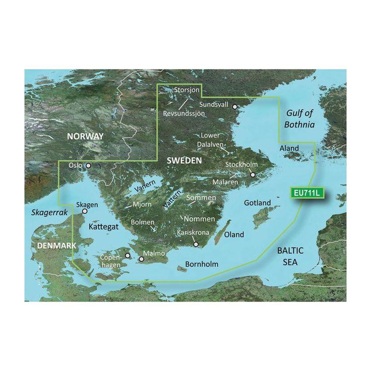 Best Vanern Ideas On Pinterest Sweden Gothenburg Sweden And - Sweden map garmin