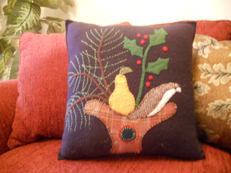 A Fun Pillow To Make For Christmas Bellesbits Made By