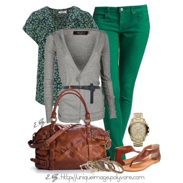 Green Skinny Jean... Really need!!Green Jeans, Fashion, Green Skinny, Skinny Jeans, Style, Colors, Outfit, Polyvore, Green Pants