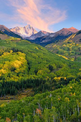 Early Autumn, Capitol  Peak Trail, Maroon Bells–Snowmass Wilderness, Colorado | Wayne Boland