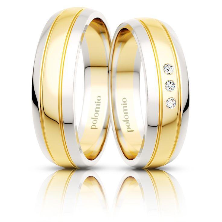 Snubní prsten Pino duo 5,5-03 Polomio Jewellery
