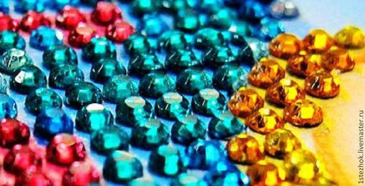Купить Алмазная мозаика Павлины (круглые кристаллы) - набор для вышивки, набор вышивки китай