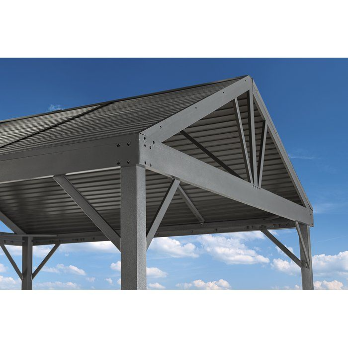 South Beach I 12 Ft W X 12 Ft D Aluminum Patio Gazebo Patio Gazebo Aluminum Patio Gazebo