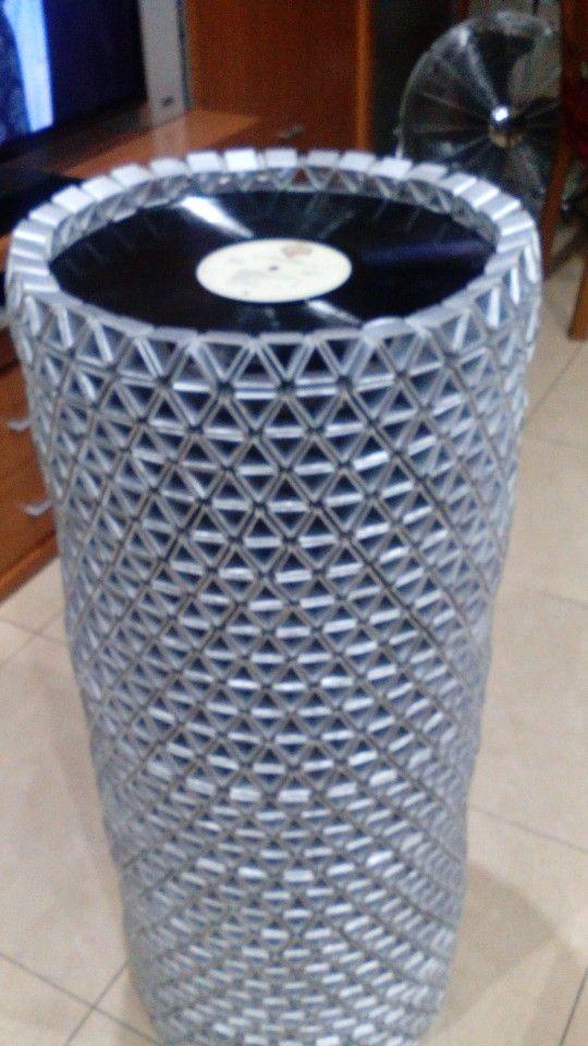 Nueva lampara de reciclaje