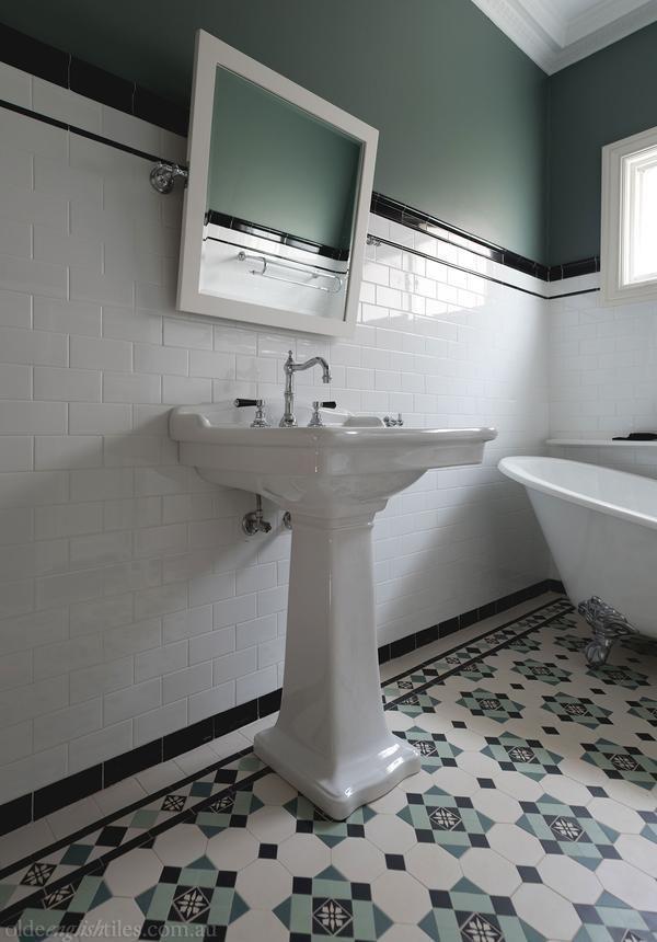 Best 25 geometric tiles ideas on pinterest modern - Authentic concepts kitchen bath design ...