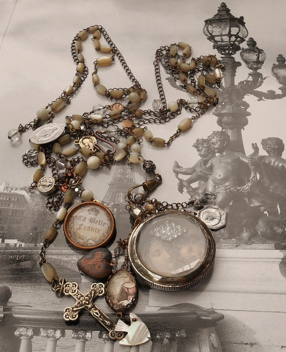 149 best images about beautiful french antique rosary on