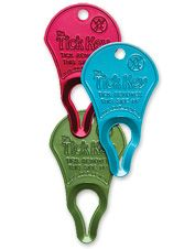 Quickly and safely remove ticks with this tick remover tool. Made in USA.
