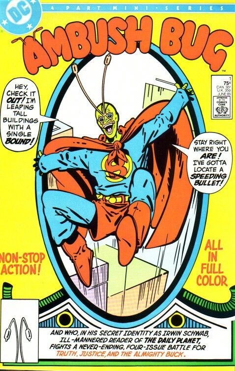 Ambush Bug #1 (1985) by Keith Giffen