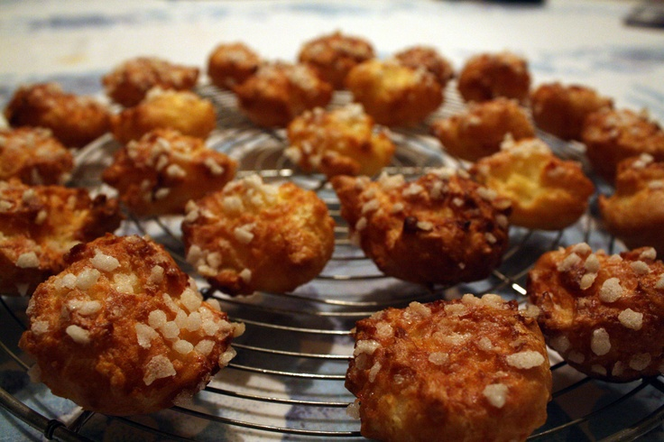 French gourmandise : chouquettes !