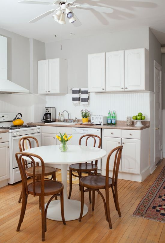Best 25 ikea table and chairs ideas on pinterest ikea for Yellow and brown kitchen ideas