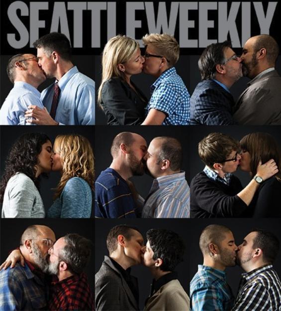 Celebrating gay marriage w/ How They Met slideshow via Seattle Weekly