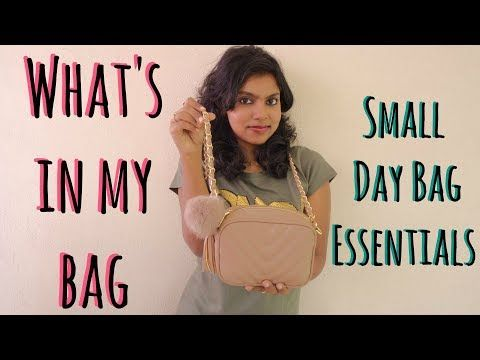 What's in my bag | Mini Crossbody Bag - Small Day Bag Essentials 2017 in today's video. This cute bag/purse which is a mini cross body bag is a perfect addition to carry the small day bag essentials. It is also perfect for me to carry as my canon camera during travel. This cute sling purse is from the max fashion bags at max fashion store. Instagram: https://www.instagram.com/adityiyerr/
