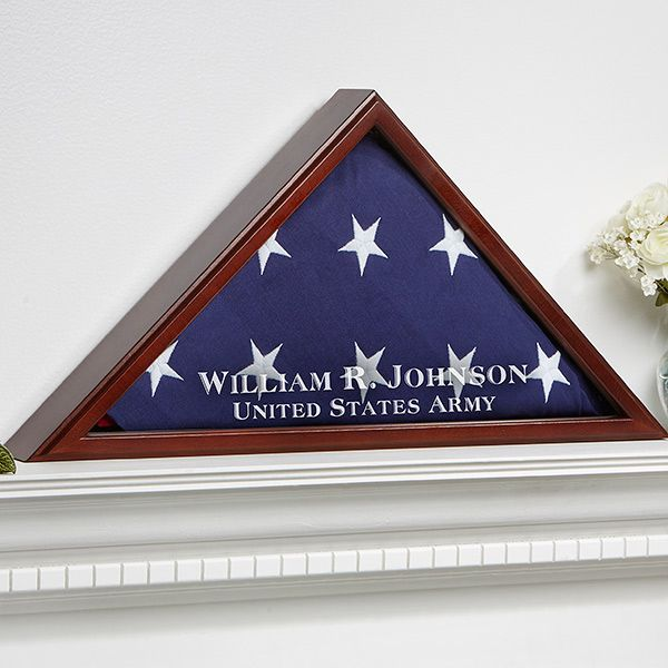 9164 - American Hero Personalized Flag Case
