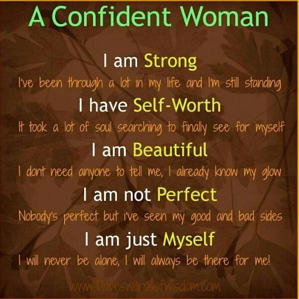 Quotes about being beautiful and confident