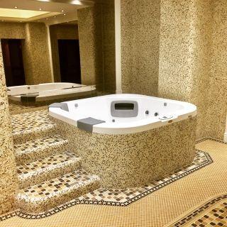 Jacuzzi® Delfi encastré avec jupes personnalisées Гидромассажный спа бассейн