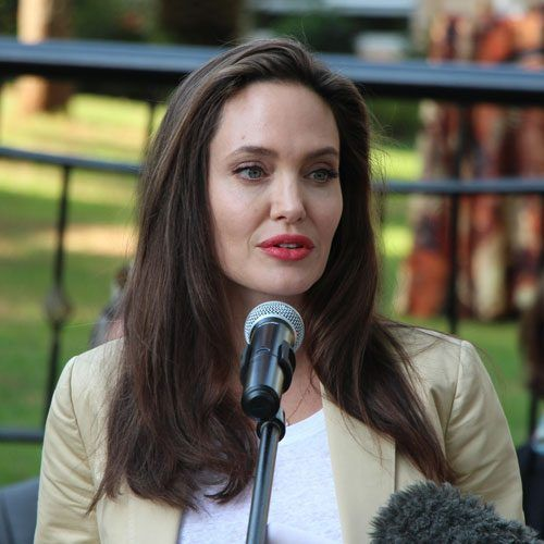 Angelina Jolie Gives Empowering Speech On Sexual Violence