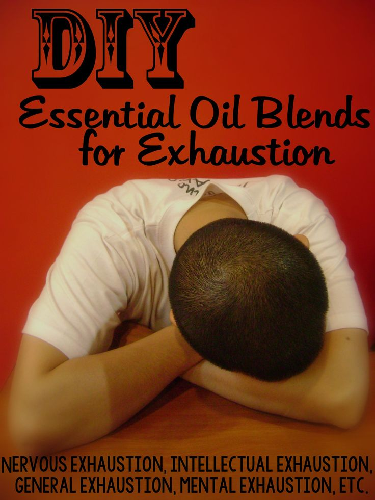 DIY Essential Oil Blends for Fatigue and ExhaustionChris Thomas