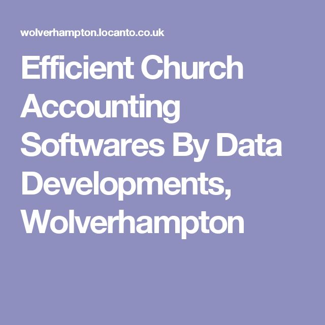 Efficient Church Accounting Softwares By Data Developments, Wolverhampton