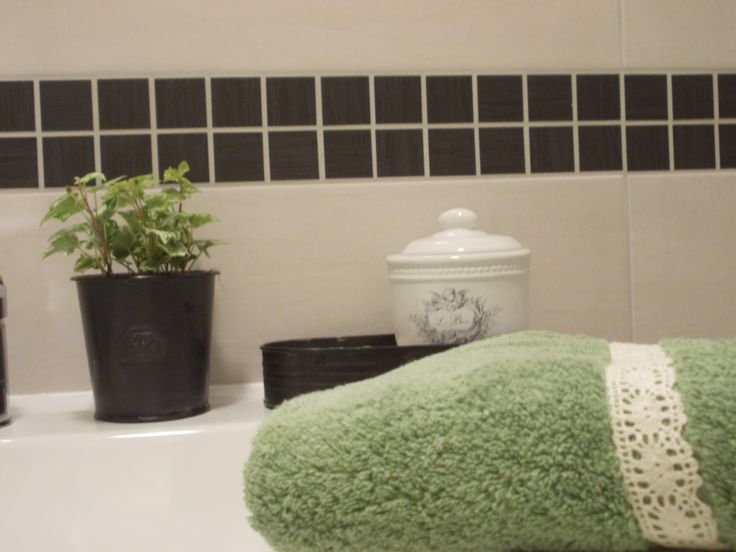 our bathroom is my husband´s work.