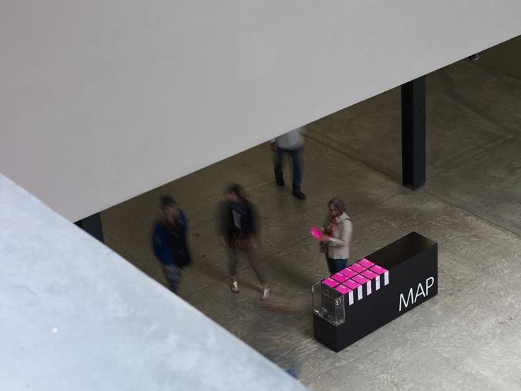 Tate Modern wayfinding and signage by Cartlidge Levene (in collaboration with Studio Myerscough)