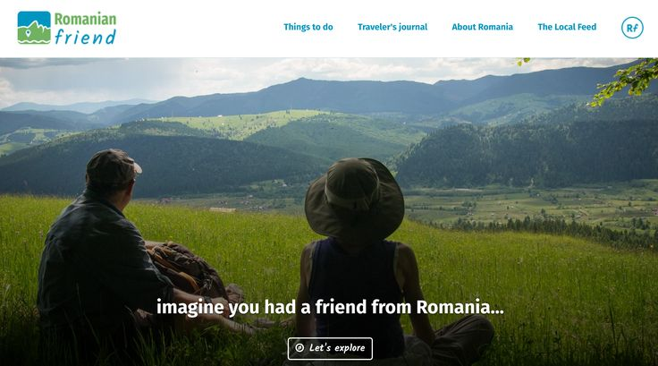 Hello world! We are now online! Let us introduce ourselves: we're a group of young & modern Romanians who want to help travellers around the world visit our country and discover its natural beauty, rich culture and friendly people – through the eyes of locals just like us! That's why we're putting together some local and authentic Romanian experiences to inspire you to visit our beautiful country. Follow us on FB or share the news with your friends!